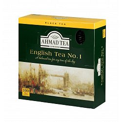 Ahmad Tea English No.1 porcovaný čaj 100 x 2 g