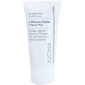 Alcina For All Skin Types 5minutová maska pro svěží vzhled pleti  50 ml