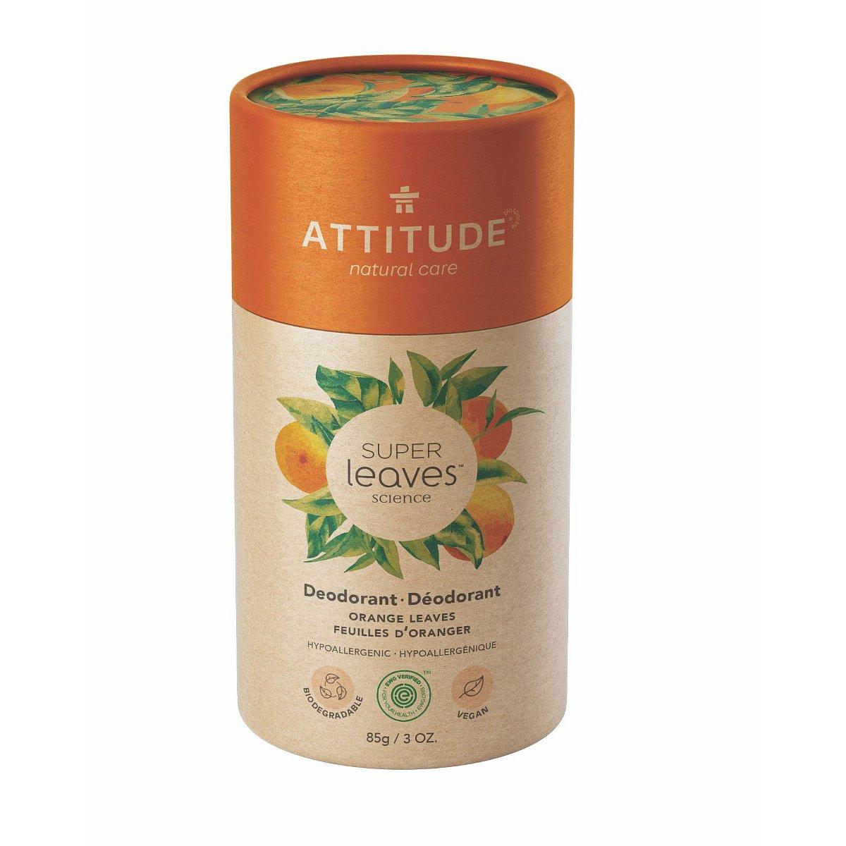 ATTITUDE Přírodní tuhý deodorant pomerančové listy 85 g