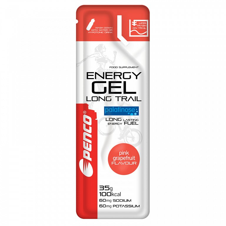 ENERGY GEL LONG TRAIL 35g Ružovy grep