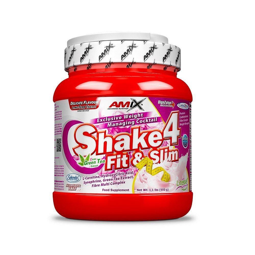 Shake4 Fit&Slim Strawberry 500g