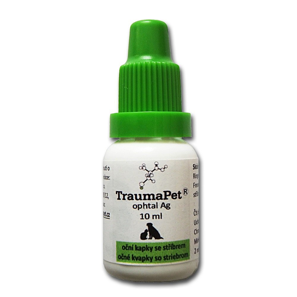TraumaPet 10ml oční kapky se stříbrem TP995