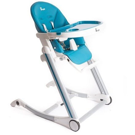 Bo Jungle jídelní židlička B-HIGH CHAIR Blue