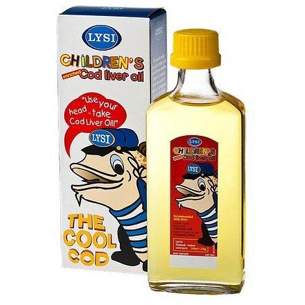 LYSI Olej z tresčích jater pro děti 240ml