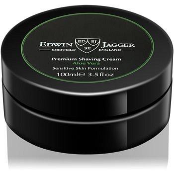 Edwin Jagger Aloe Vera krém na holení pro citlivou pleť  100 ml