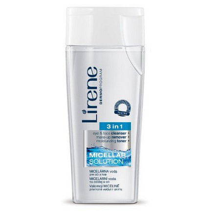Lirene Micelární voda na obličej a oči 3v1 200ml