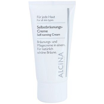 Alcina For All Skin Types samoopalovací krém na obličej  50 ml