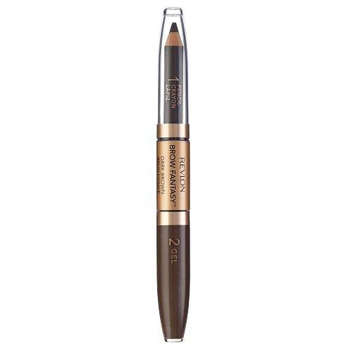 Revlon Brow Fantasy  106 Dark Brown 0,31 g + 1,18 ml + dárek REVLON -  deštník