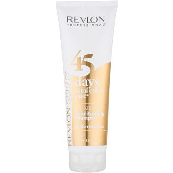 Revlon Professional Revlonissimo Color Care šampon a kondicionér 2 v 1  pro střední blond odstíny bez sulfátů  275 ml