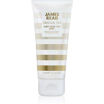 James Read Gradual Tan samoopalovací noční hydratační maska na tělo 50 ml