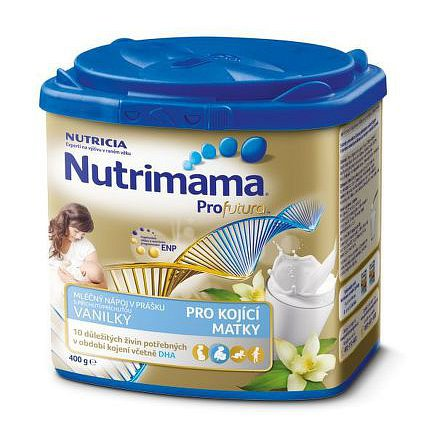 Nutrimama Profutura mléčný nápoj s vanilkovou příchutí