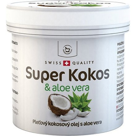 Super Kokos a aloe pleťový olej 150ml