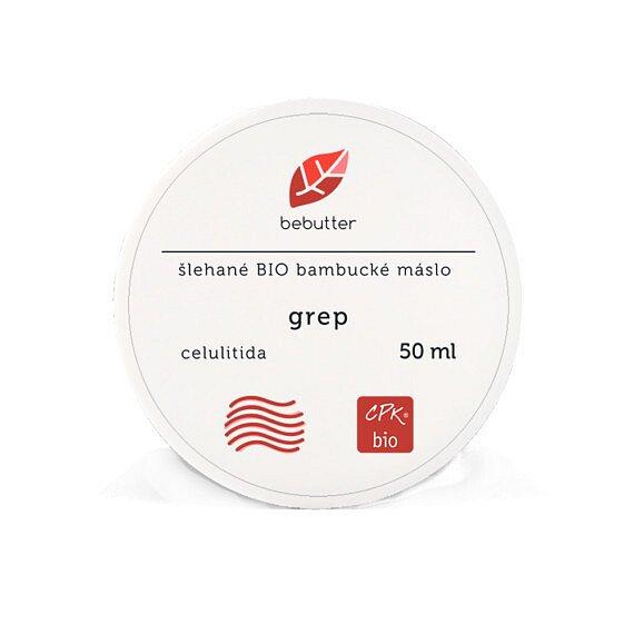 Bebutter Šlehané Bio bambucké máslo GREP 50 ml CPK bio