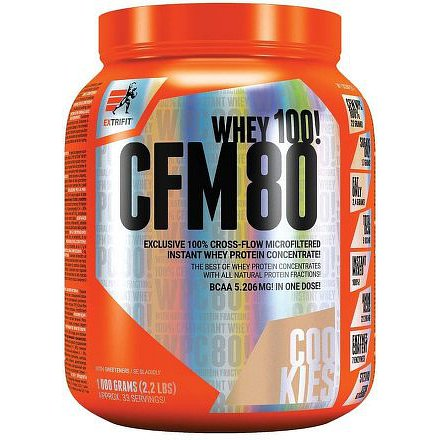CFM Instant Whey 80 1000 g cookies