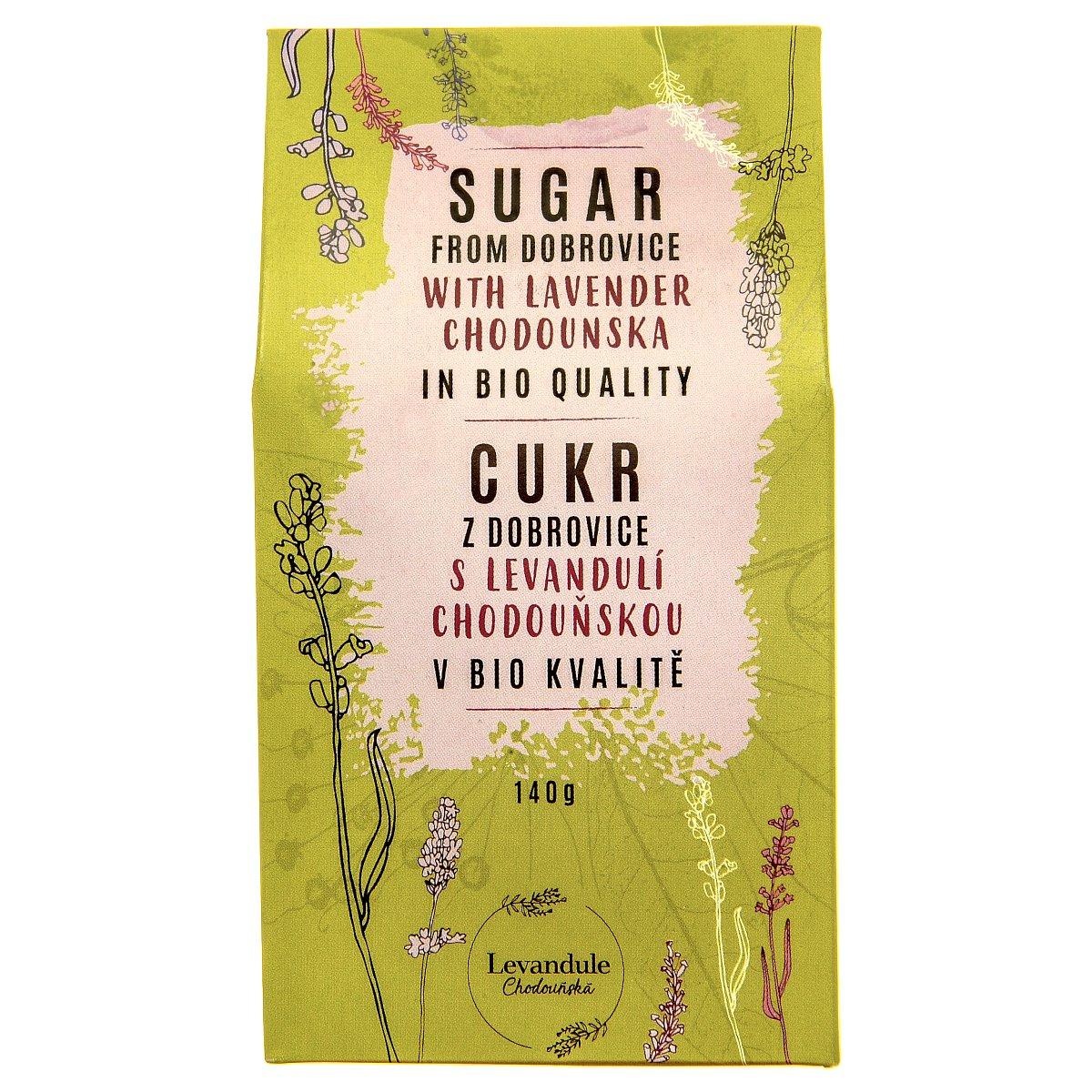 Cukr z Dobrovice s Levandulí Chodouňskou v BIO kvalitě 140g
