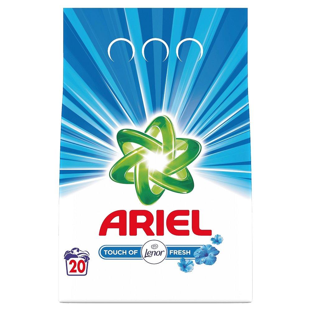 Ariel prášek TOL Fresh 1,4kg - 20 pracích dávek
