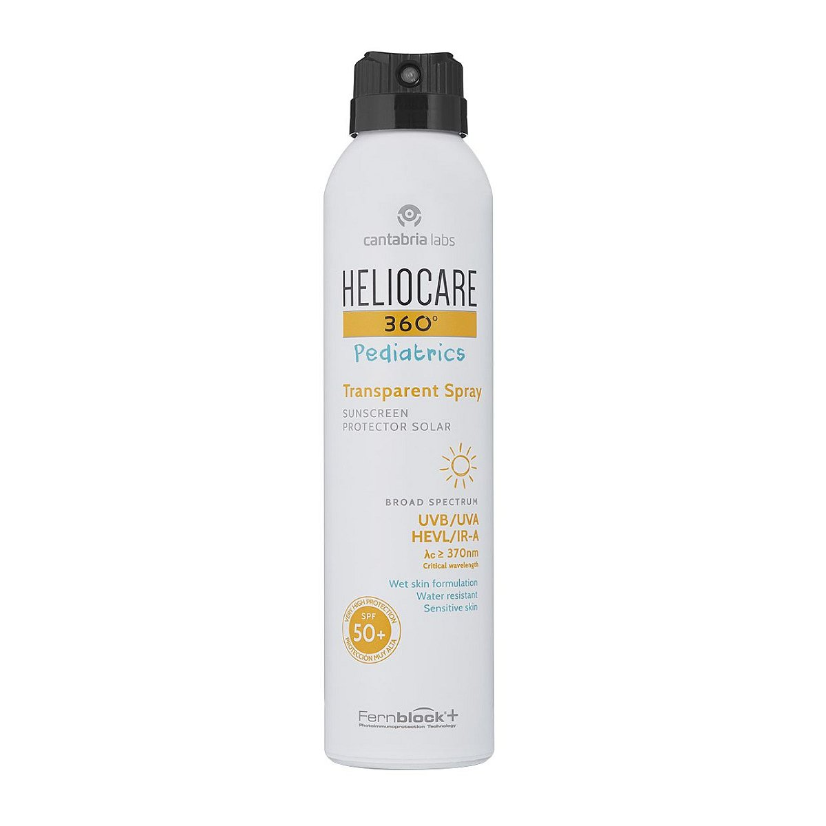 Heliocare Pediatrics Transparent spray SPF50+ 200 ml