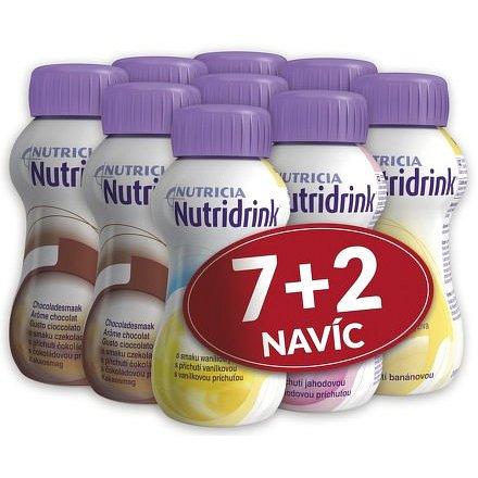 Nutridrink akční balíček 7+2ks NAVÍC