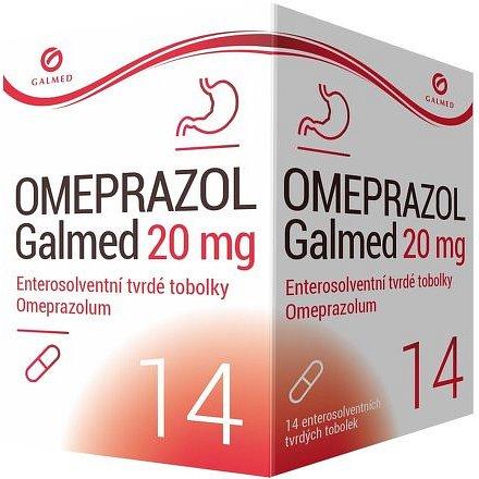 Galmed Omeprazol 20mg 14 tvrdých tobolek