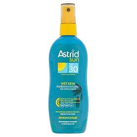 Astrid Sun Wet Skin transparentní sprej na opalování OF 30 150 ml