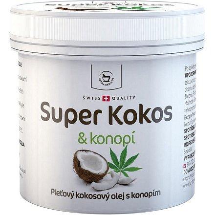 Super Kokos a konopí pleťový olej 150ml