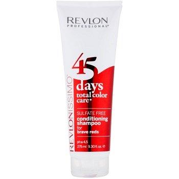 Revlon Professional Revlonissimo Color Care šampon a kondicionér 2 v 1 pro červené odstíny vlasů bez sulfátů  275 ml