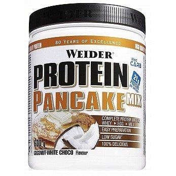 Weider, Protein pancake mix, 500g, Kokos - Bílá čokoláda