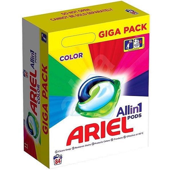 Ariel gelové kapsle Color 84ks