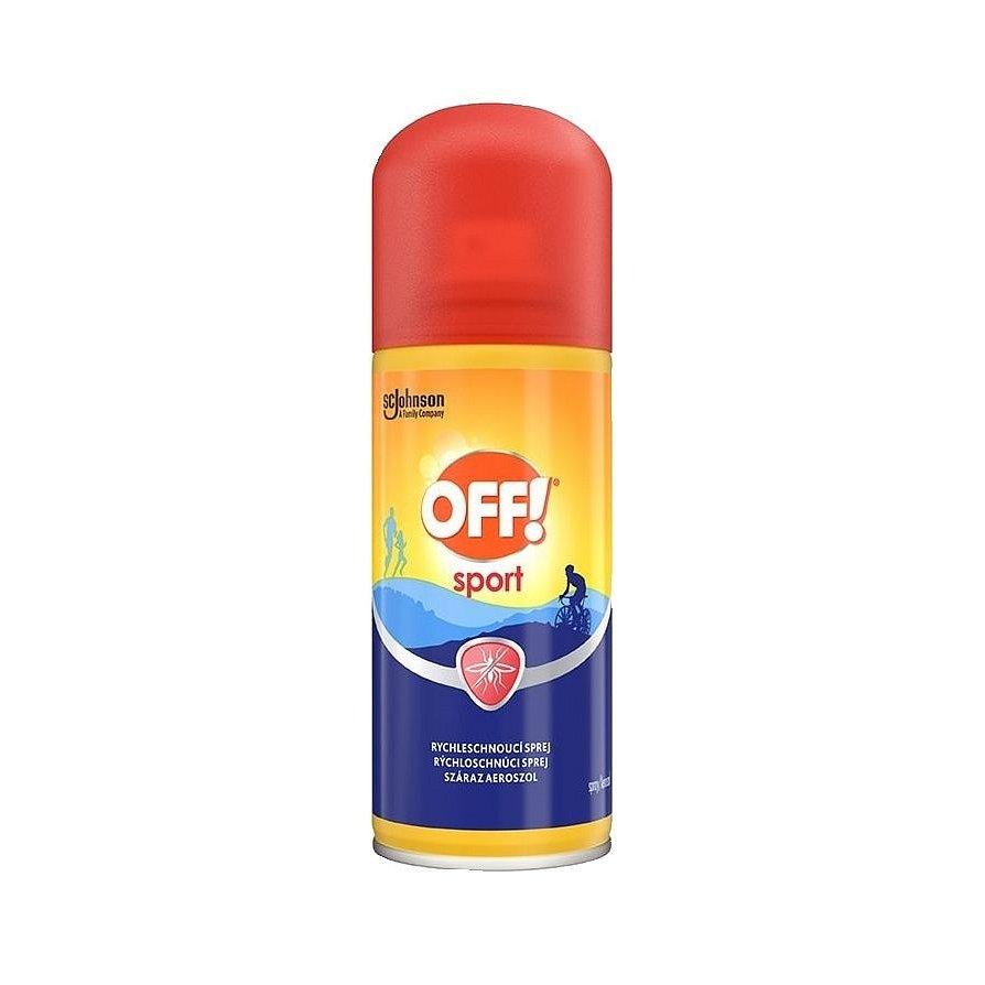OFF! Sport rychleschnoucí sprej 100 ml