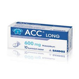 ACC Long 600mg tablety šumivé 10 ks