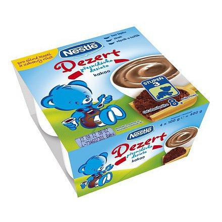 NESTLÉ Yogo Dessert kakaový 4x100g