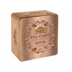 Ahmad Tea Tea chest four porcovaný čaj 4 x 10 sáčků
