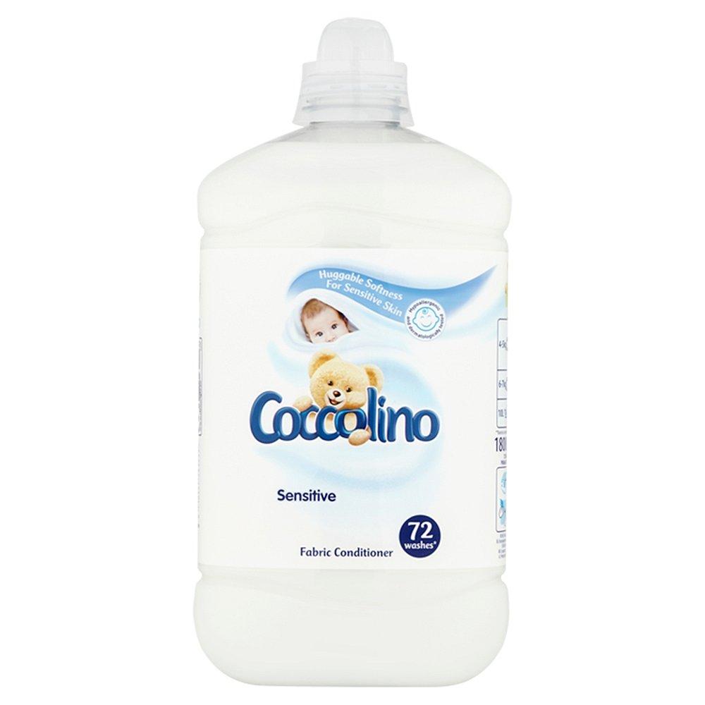 COCCOLINO Sensitive aviváž 72 dávek 1,8l