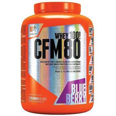 CFM Instant Whey 80 2,27 kg borůvka