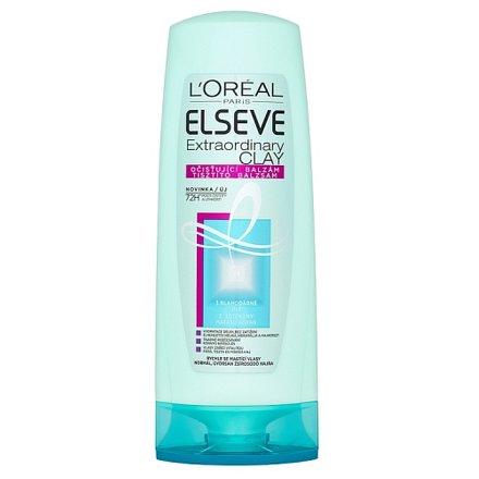 Elseve Extraordinary Clay očisťující balzám pro rychle se mastící vlasy