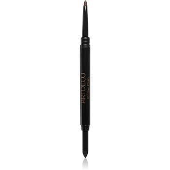 Artdeco Brow Duo Powder & Liner tužka a pudr na obočí 2 v 1 odstín 12 Ebony 0,8 g