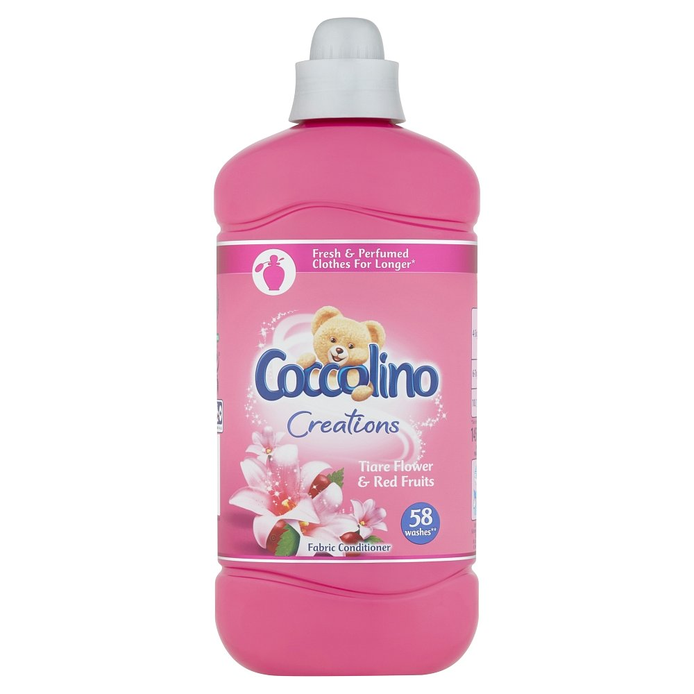 Coccolino Creations Tiare Flower & Red Fruits aviváž 58 dávek 1,45l