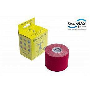 KineMAX SuperPro Cot. kinesiology tape červ.5cmx5m