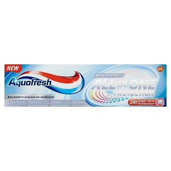 Aquafresh All in One Protection Whitening zubní pasta s fluoridem 75 ml