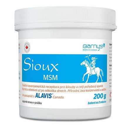Barnys MSM Sioux 200g