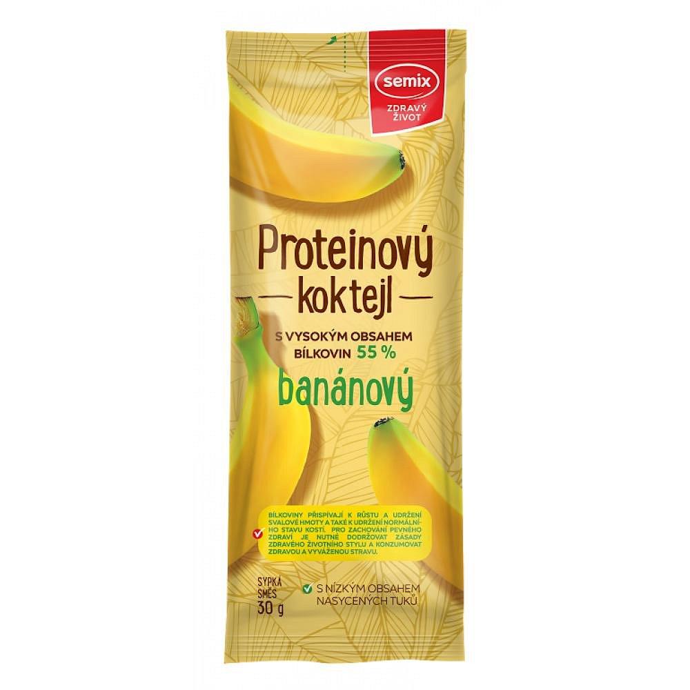 SEMIX Proteinový koktejl banán 30 g