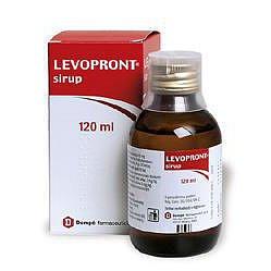 Levopront Sirup perorální sirup 1 x 120 ml