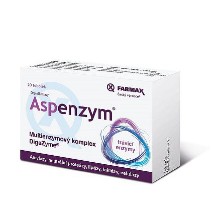 Aspenzym tobolky 20