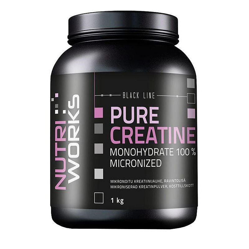 NutriWorks Pure Creatine Monohydrate 1000g