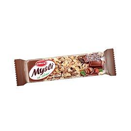 EMCO Müsli Ovesná tyčinka čokoláda a ořechy 45g