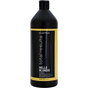 Matrix Total Results Hello Blondie ochranný kondicionér pro blond vlasy 1000 ml