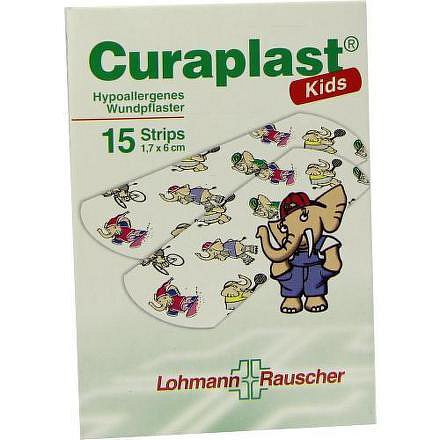 Náplast Curaplast Kids pro děti ster. 1.7x6cm 15ks