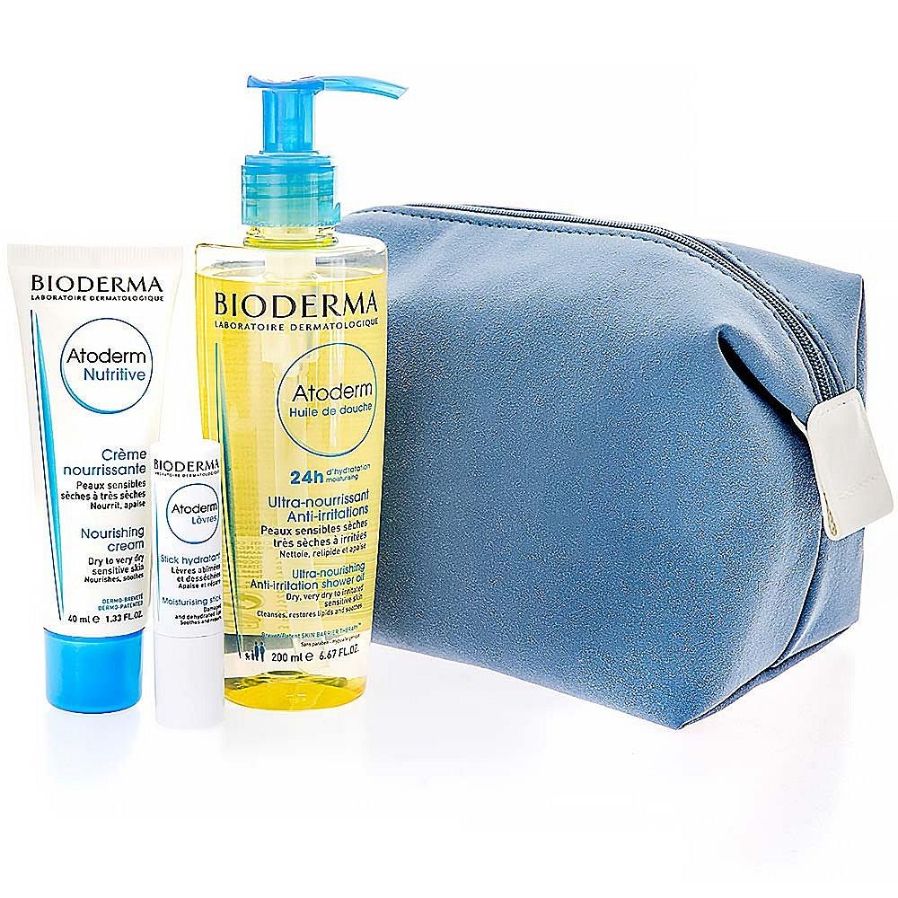 BIODERMA  Atoderm modrá kosmetická taška