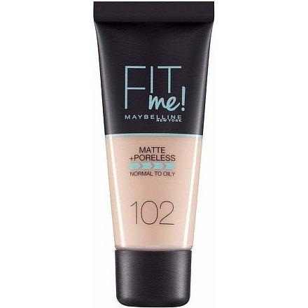 Maybelline Fit Me sjednocující matující make-up pro normální až mastnou pleť 102 Fair Ivory 30ml