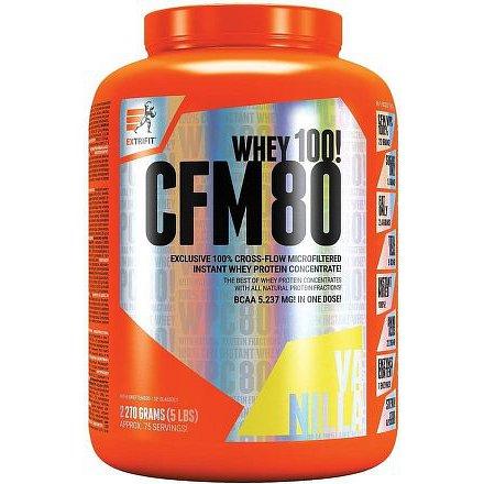 CFM Instant Whey 80 2,27 kg vanilka